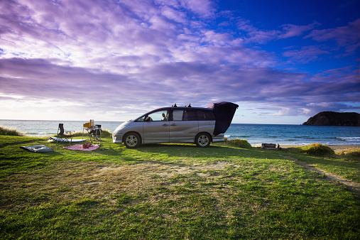 Coastline「A beachfront campsite on the Coromandel」:スマホ壁紙(9)