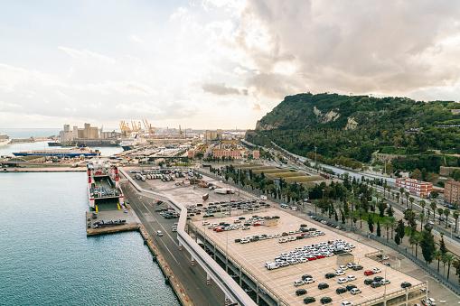 Cruise - Vacation「Harbor and city of Barcelona, Catalonia, Spain」:スマホ壁紙(15)