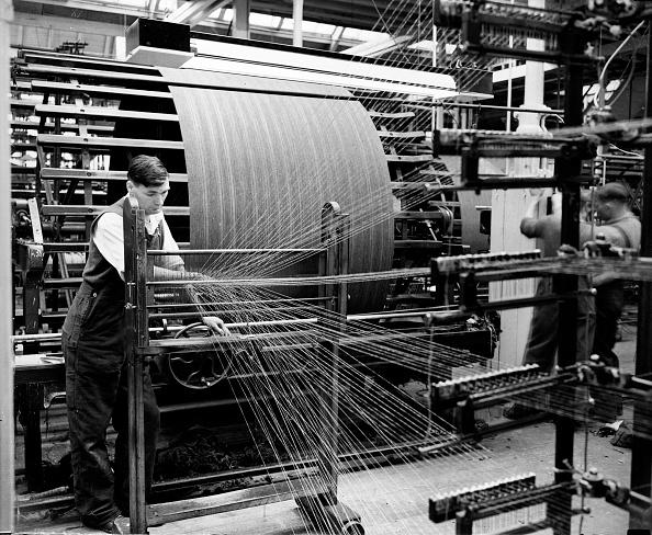 Textile「Spinning Machine」:写真・画像(7)[壁紙.com]