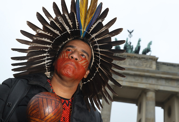Indigenous Culture「Indigenous People Protest Ahead Of Climate Summit」:写真・画像(10)[壁紙.com]