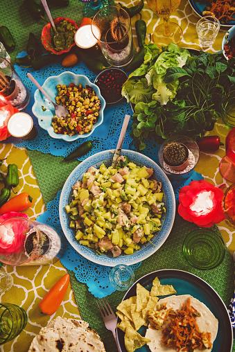 Taco「Mexican tex mex dinner food photography」:スマホ壁紙(5)