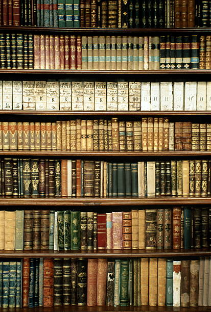 Czech Republic, West Bohemia, Tepla Monastery library bookshelves:スマホ壁紙(壁紙.com)