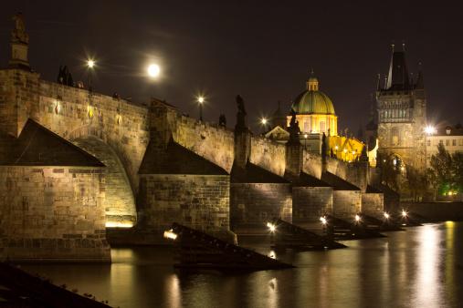Charles Bridge「Czech Republic, Prague -Charles Bridge.」:スマホ壁紙(7)