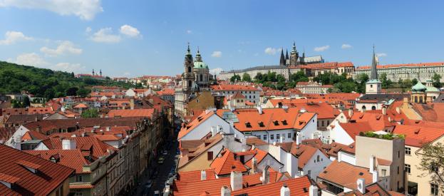 Hradcany「Czech Republic, Prague, Mala Strana and castle with Saint Nicholas Church」:スマホ壁紙(13)