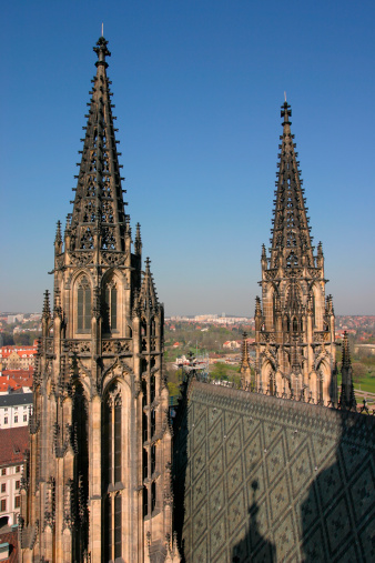 St Vitus's Cathedral「Czech Republic, Prague, St. Vitus Cathedral」:スマホ壁紙(15)