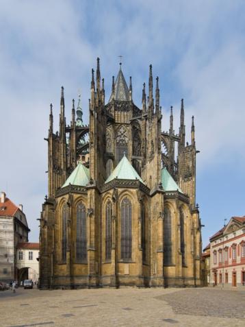 St Vitus's Cathedral「Czech Republic, Prague, St. Vitus Cathedral」:スマホ壁紙(13)