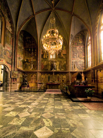 St Vitus's Cathedral「Czech Republic, Prague, St. Vitus Cathedral interior」:スマホ壁紙(19)