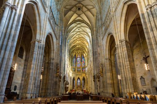 St Vitus's Cathedral「Czech Republic, Prague, St. Vitus Cathedral interi」:スマホ壁紙(16)