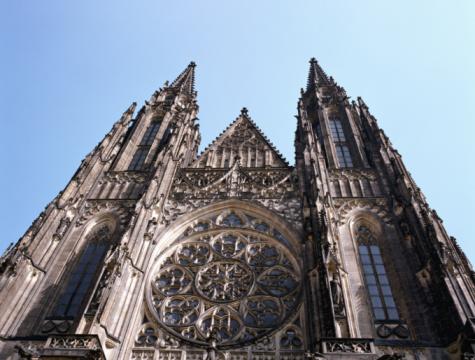 St Vitus's Cathedral「Czech Republic, Prague, Prague Castle, St Vitus Cathedral」:スマホ壁紙(12)