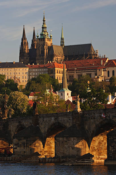 Czech Republic, Prague, Prague Castle, Charles Bridge:スマホ壁紙(壁紙.com)