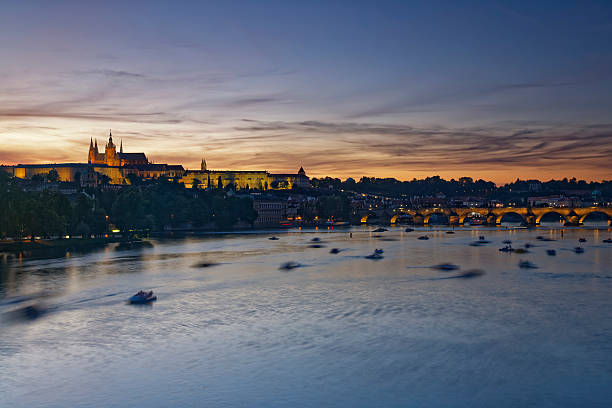 Czech Republic, Prague, Old town and Charles Bridge:スマホ壁紙(壁紙.com)