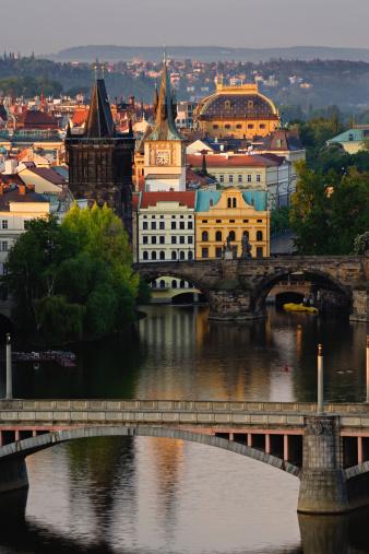 Charles Bridge「Czech Republic, Prague, Vltava River, Charles Bridge」:スマホ壁紙(17)