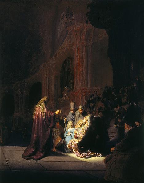 Congratulating「Simeon's Song Of Praise 1631」:写真・画像(0)[壁紙.com]