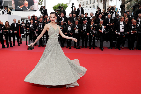 "Kiko Mizuhara「""Yomeddine"" Red Carpet Arrivals - The 71st Annual Cannes Film Festival」:写真・画像(3)[壁紙.com]"