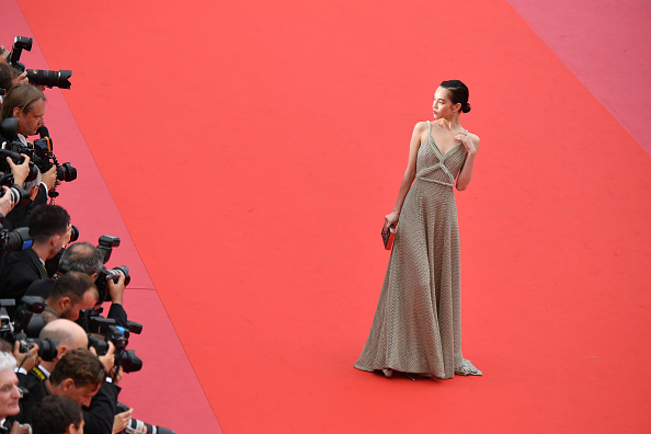 "Kiko Mizuhara「""Yomeddine"" Red Carpet Arrivals - The 71st Annual Cannes Film Festival」:写真・画像(1)[壁紙.com]"