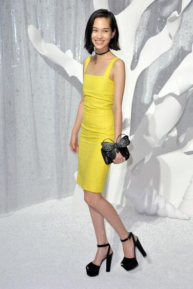 Kiko Mizuhara「Chanel: Front Row - Paris Fashion Week Spring / Summer 2012」:写真・画像(15)[壁紙.com]