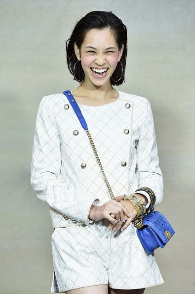 Kiko Mizuhara「Chanel : Front Row  - Paris Fashion Week Womenswear Spring/Summer 2015」:写真・画像(12)[壁紙.com]