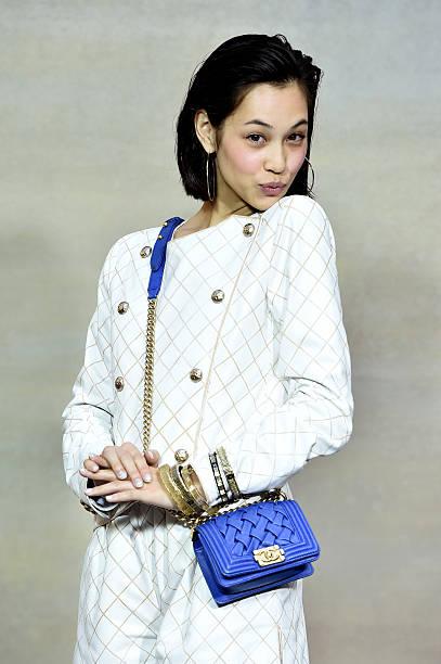 Chanel : Front Row  - Paris Fashion Week Womenswear Spring/Summer 2015:ニュース(壁紙.com)