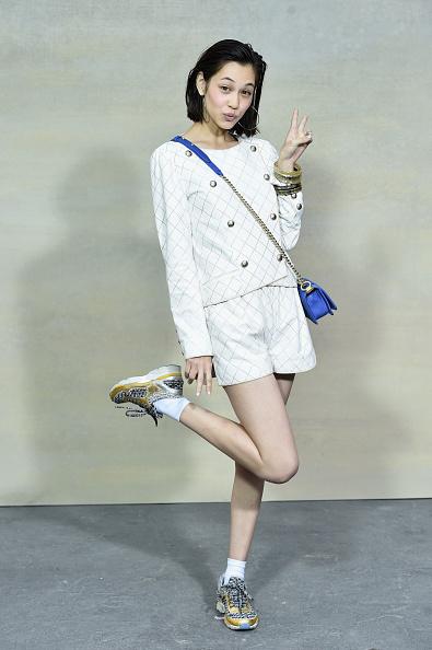 Kiko Mizuhara「Chanel : Front Row  - Paris Fashion Week Womenswear Spring/Summer 2015」:写真・画像(15)[壁紙.com]