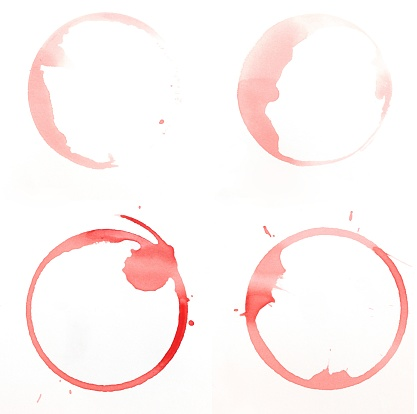 Napkin「Wine Stains」:スマホ壁紙(13)