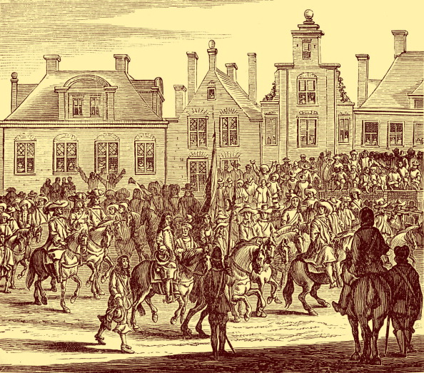 City Life「Entry of Charles II into London」:写真・画像(8)[壁紙.com]