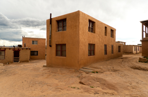 文化「Multi family dwelling in Acoma, Sky City」:スマホ壁紙(0)