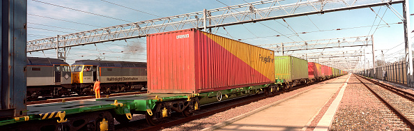 2002「Container wagons at Dollands Moor Railfreight Distribution Terminal. Kent」:写真・画像(7)[壁紙.com]