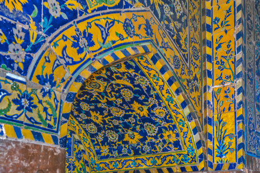 Iranian Culture「The Shah Mosque known as Imam mosque in Esfahan」:スマホ壁紙(1)