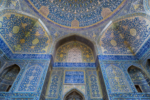 Iranian Culture「The Shah Mosque known as Imam mosque in Esfahan」:スマホ壁紙(2)
