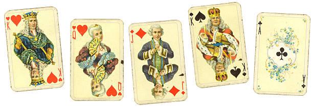 Vintage playing cards:スマホ壁紙(壁紙.com)