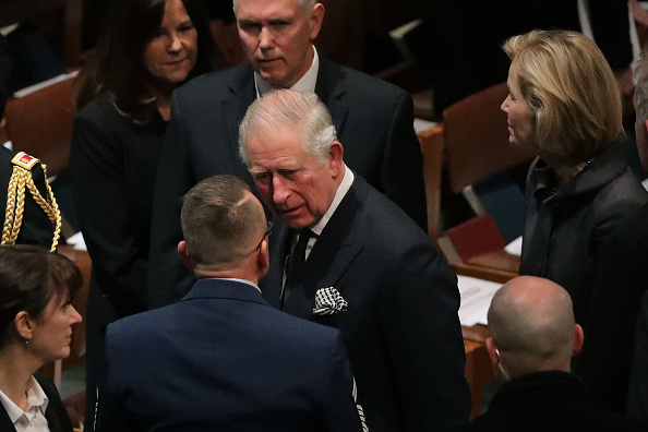 Funeral「State Funeral Held For George H.W. Bush At The Washington National Cathedral」:写真・画像(8)[壁紙.com]