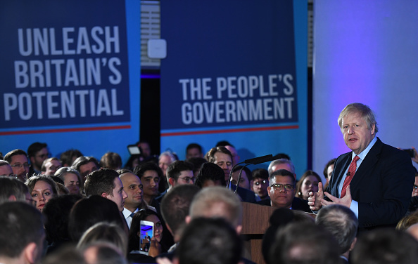 Victor J「The Conservative Party Win A Clear Majority In The UK General Election」:写真・画像(5)[壁紙.com]