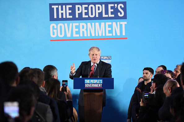 Victor J「The Conservative Party Win A Clear Majority In The UK General Election」:写真・画像(7)[壁紙.com]