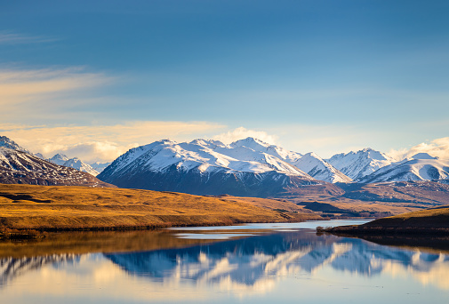 High Country「Lake Alexandrina, South Island, New Zealand.」:スマホ壁紙(15)