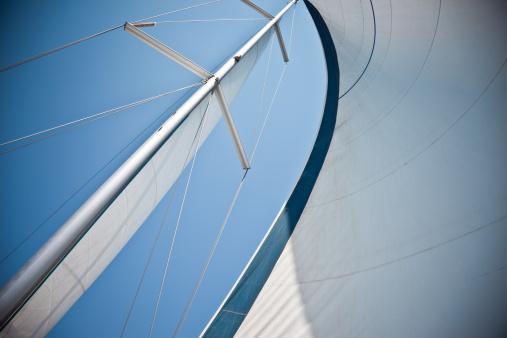 Sailboat「Sails Against A Clear Blue Sky」:スマホ壁紙(11)