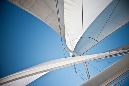 Waving - Gesture「Sails Against A Clear Blue Sky」:スマホ壁紙(4)