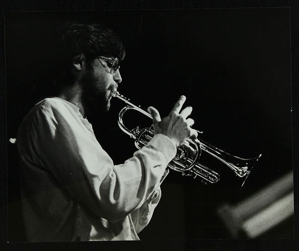 Agricultural Building「Guy Barker playing the trumpet at The Stables, Wavendon, Buckinghamshire. .」:写真・画像(17)[壁紙.com]