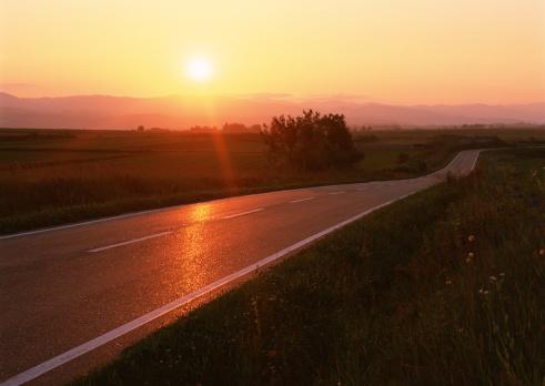 Hokkaido「Road」:スマホ壁紙(3)