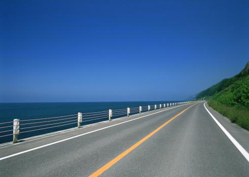 Sea「Road」:スマホ壁紙(16)