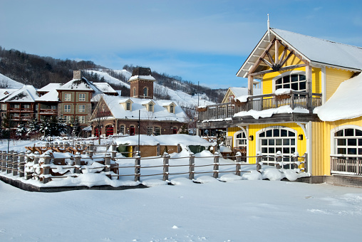 Ski Resort「Winter Daybreak」:スマホ壁紙(19)
