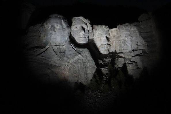 Keystone「Mount Rushmore National Memorial And Keystone, South Dakota Prepare To Host President Trump」:写真・画像(4)[壁紙.com]