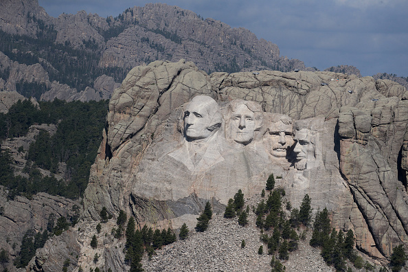 Keystone「Mount Rushmore National Memorial And Keystone, South Dakota Prepare To Host President Trump」:写真・画像(9)[壁紙.com]