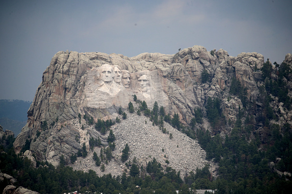 Keystone「Mount Rushmore National Memorial And Keystone, South Dakota Prepare To Host President Trump」:写真・画像(10)[壁紙.com]