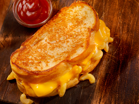 Toasted Sandwich「Grilled Macaroni and Cheese Sandwich」:スマホ壁紙(7)
