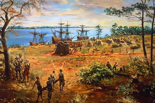 Fort「Jamestown Fort」:写真・画像(1)[壁紙.com]