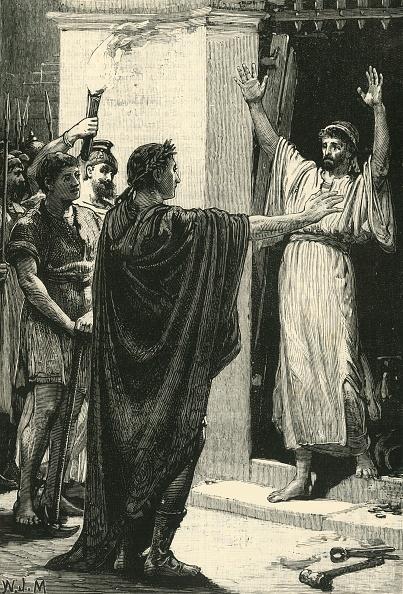 Surrendering「Caesar Possessing Himself Of The Treasure In The Temple Of Saturn」:写真・画像(16)[壁紙.com]