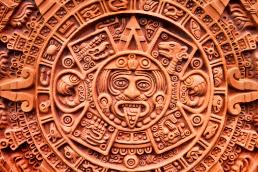 God「Aztec calendar Stone of the Sun」:スマホ壁紙(18)