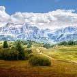 Sass Pordoi Mountain壁紙の画像(壁紙.com)