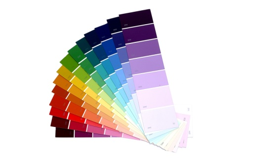 Choosing「Paint samples」:スマホ壁紙(18)
