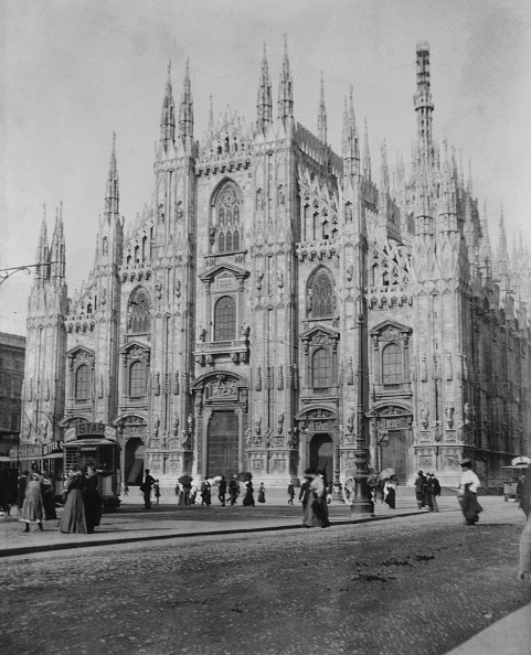 Gothic Style「Milan Cathedral, Italy」:写真・画像(13)[壁紙.com]